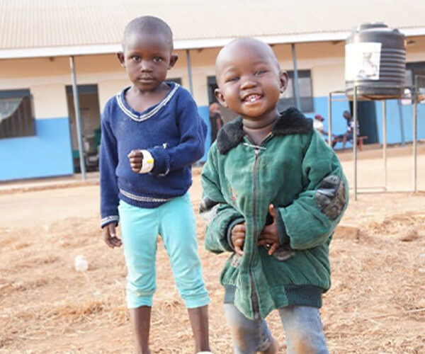 A £1 a week donation can save and transform the life of a child